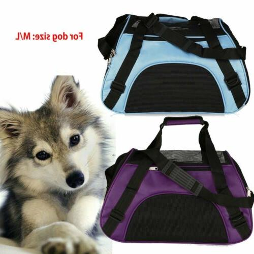 Pet Carrier Soft Large / Dog Comfort Travel Bag Approved HM