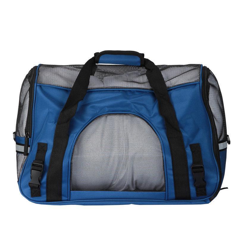 Pet Carrier Soft Large Comfort Rose Black Travel