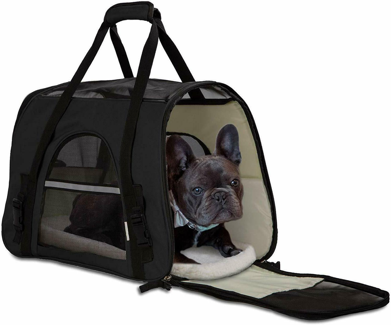 Pet Carrier Bag Case Airline Soft Sided Bag Cat