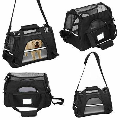 Pet Carrier Soft Sided Small Cat/Dog Comfort Travel Bag Oxfo