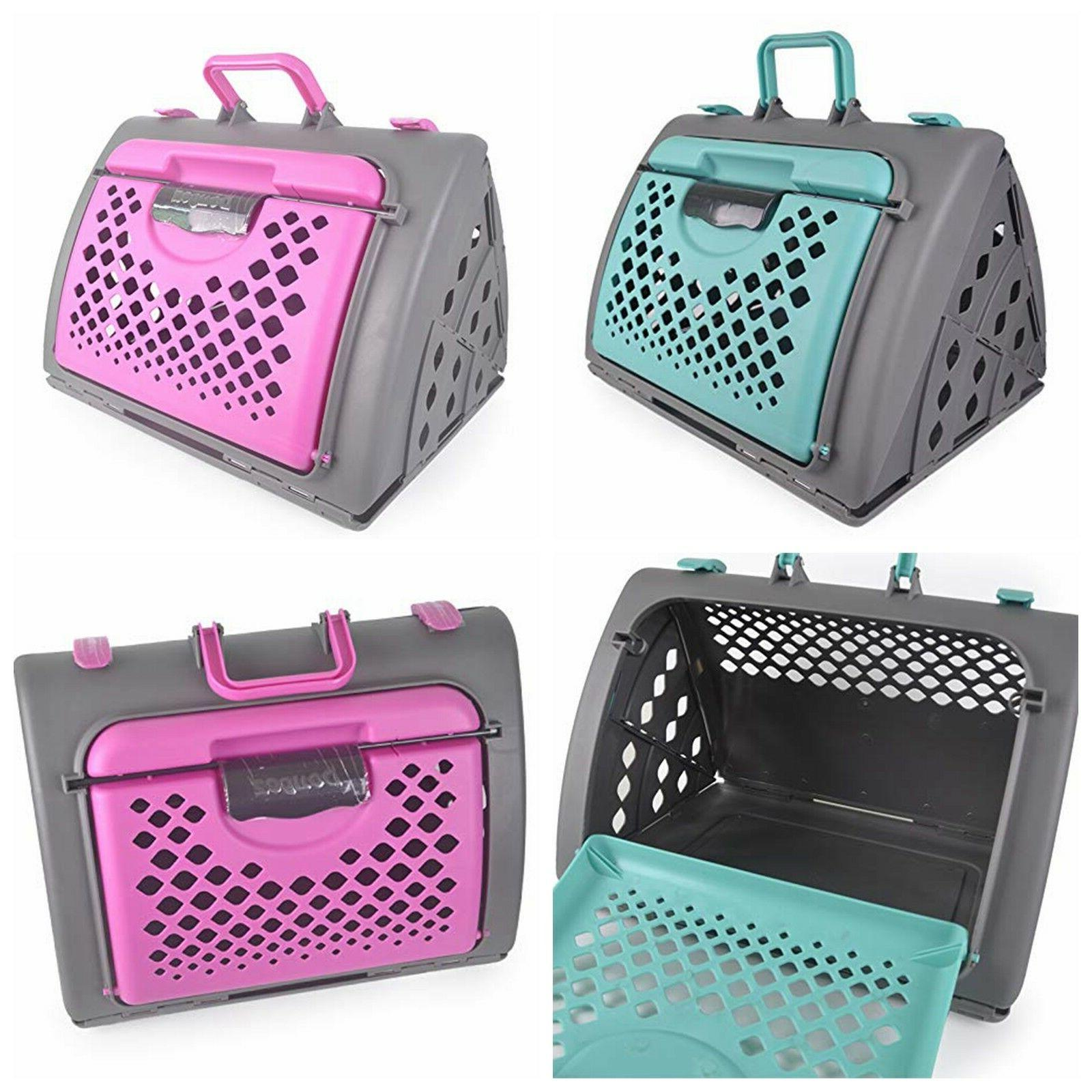 pet carrier travel kennel cage bed crate