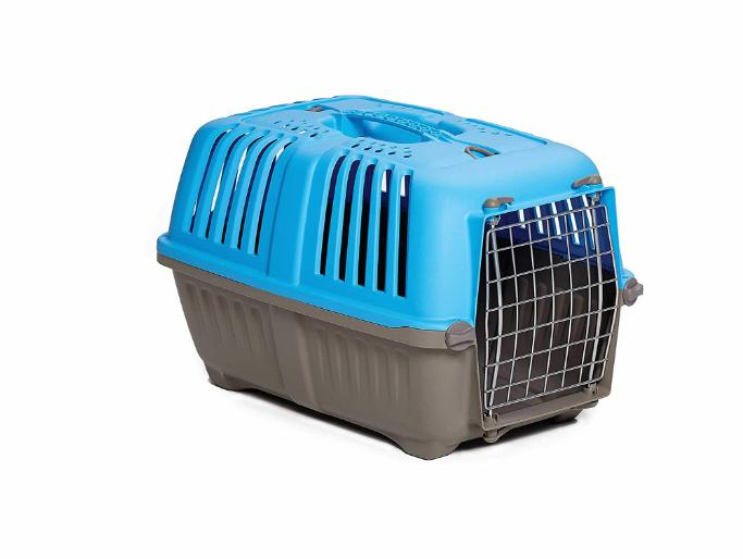 Pet Puppy Carrier Travel Crate Small Kennel Blue 19