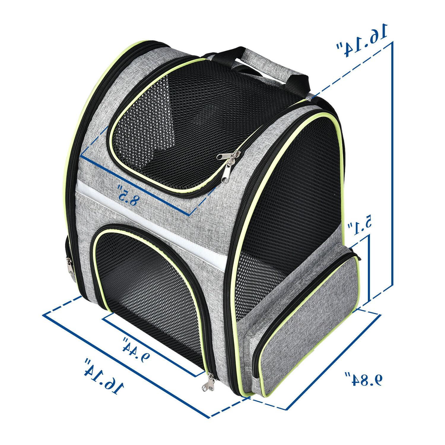Pet Cat Backpack Breathable Mesh Tote