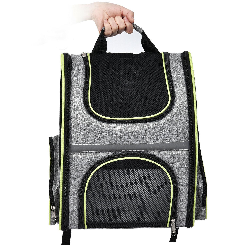 Pet Backpack Shoulder Breathable Mesh Travel Tote