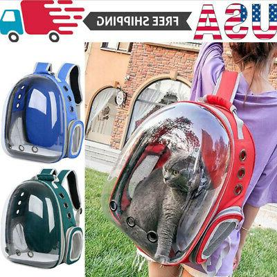 pet portable carrier backpack space capsule travel