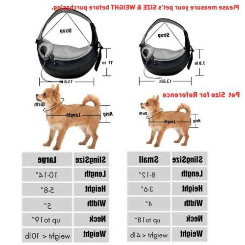 Pet Puppy Dog Backpack Travel Bag Mesh Pack