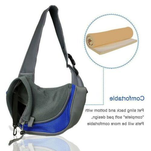 Pet Dog Mesh Sling Carry Pack Backpack Carrier Shoulder Bag