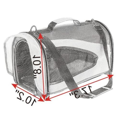 Portable Dog Puppy Tote Kennel