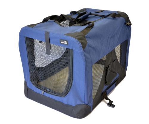 """topPets Portable Soft Pet Carrier - Medium: 24""""x16""""x16"""" - Da"""