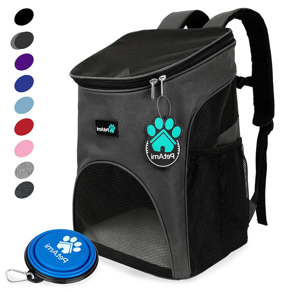premium pet carrier backpack for cats