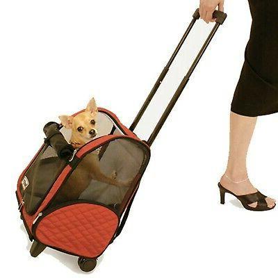 roll around pet carrier
