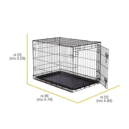 AmazonBasics Single Door Dog Crate Protector