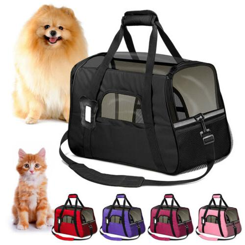 small cat dog pet carrier soft sided