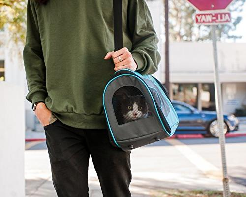 Pet Magasin Soft-Sided Travel Carrier for Small Dogs, Puppies and Other Pets
