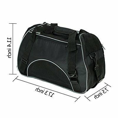 Soft Travel Bag Cats Airline Seat Bl
