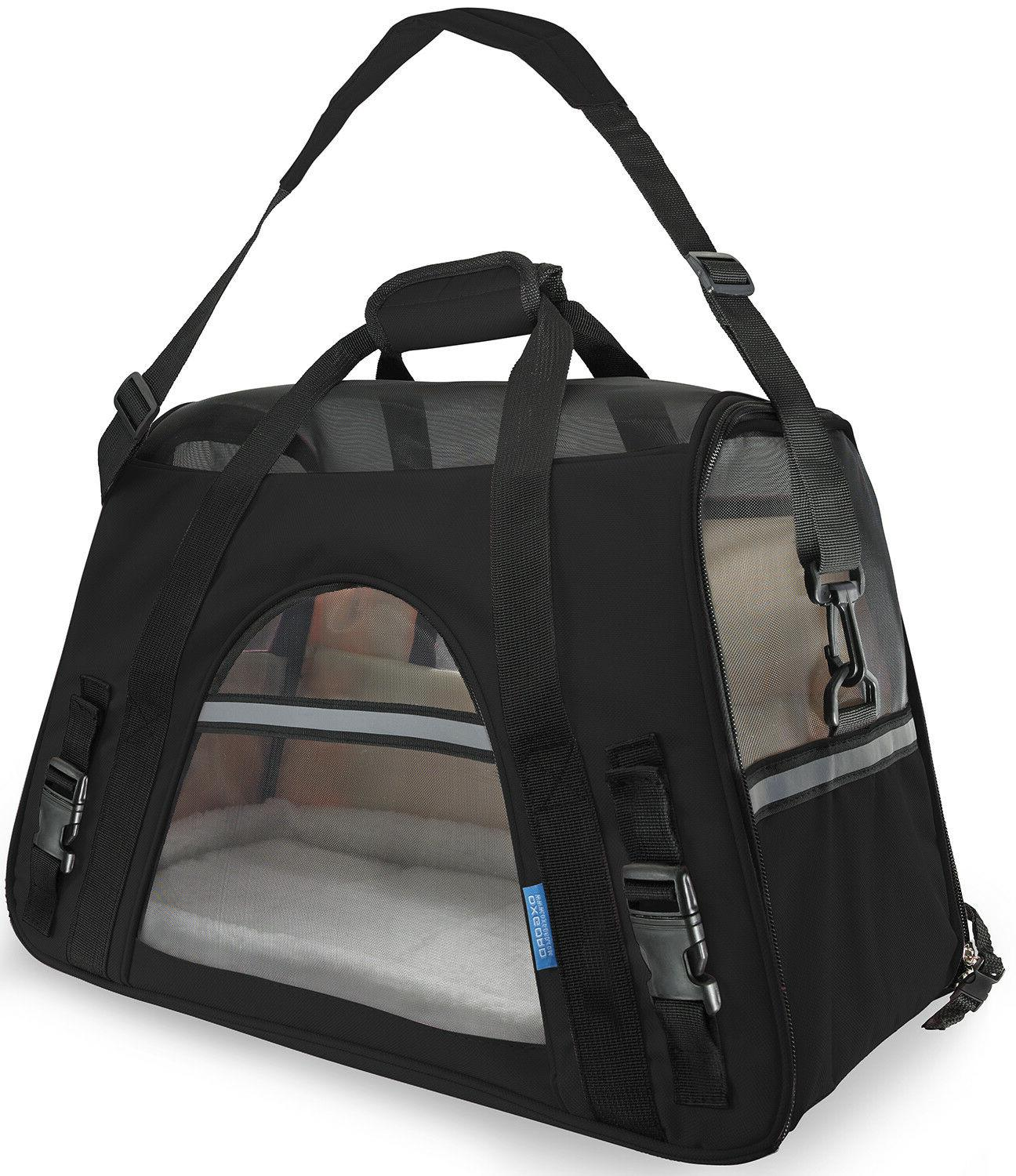 soft sided airline approved travel pet carrier