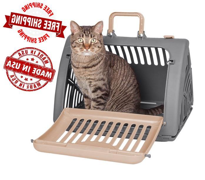 sportpet cat carrier front door