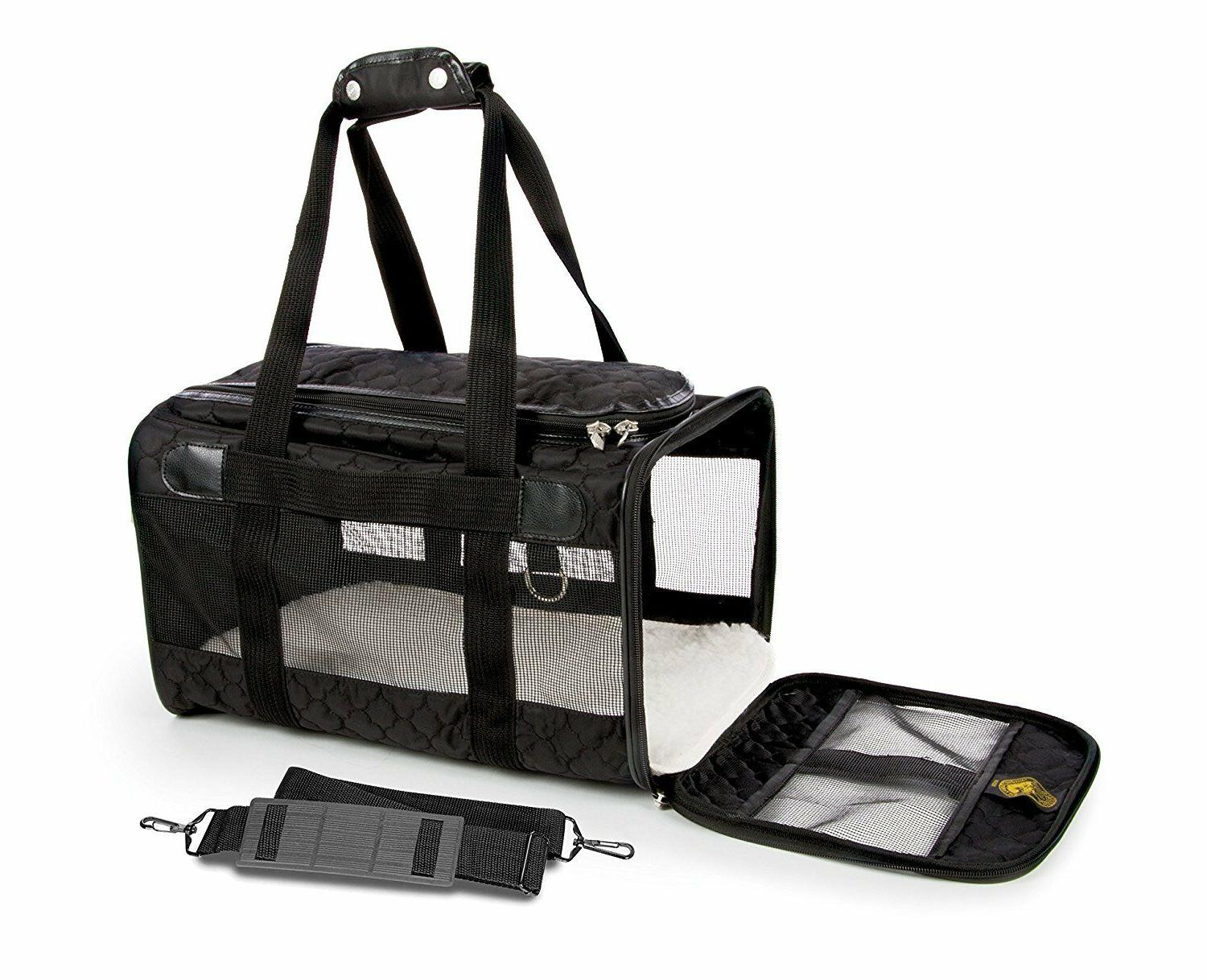 travel original deluxe airline approved pet carrier