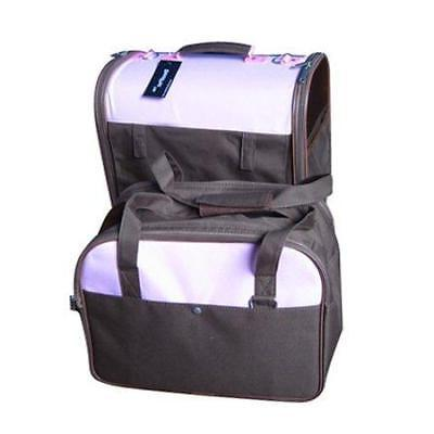twin pet carrier dog cat bag tote