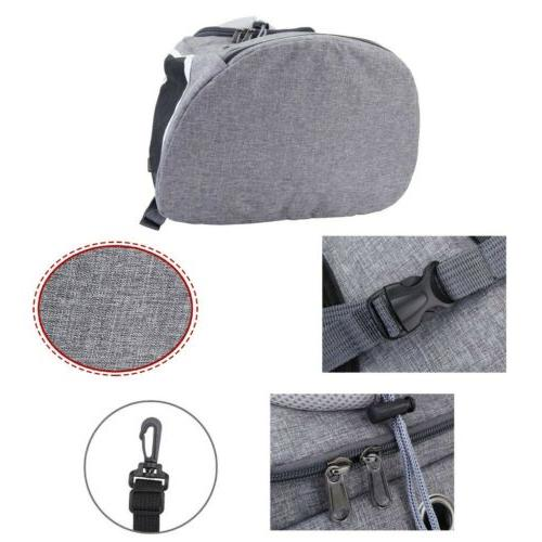 US Shoulder Dog Cat Carrier Windows