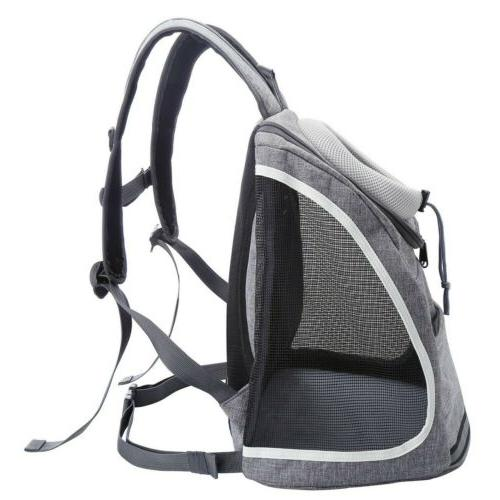 US Double Bag Backpack Pet Dog Windows