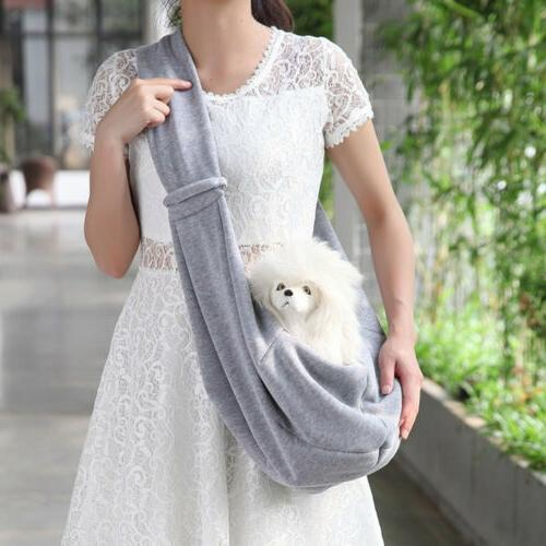 Small Dog Pet Cat Carrier Sling Puppy Tote Single Shoulder B