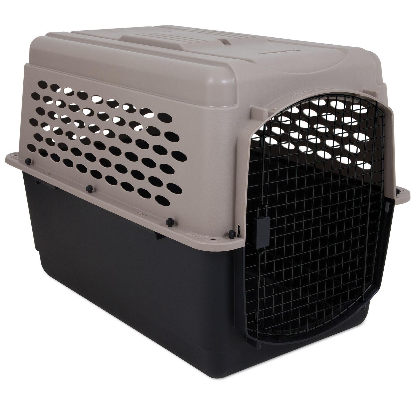 Vari Kennel 500 Plastic Dog Crates 2 Pack
