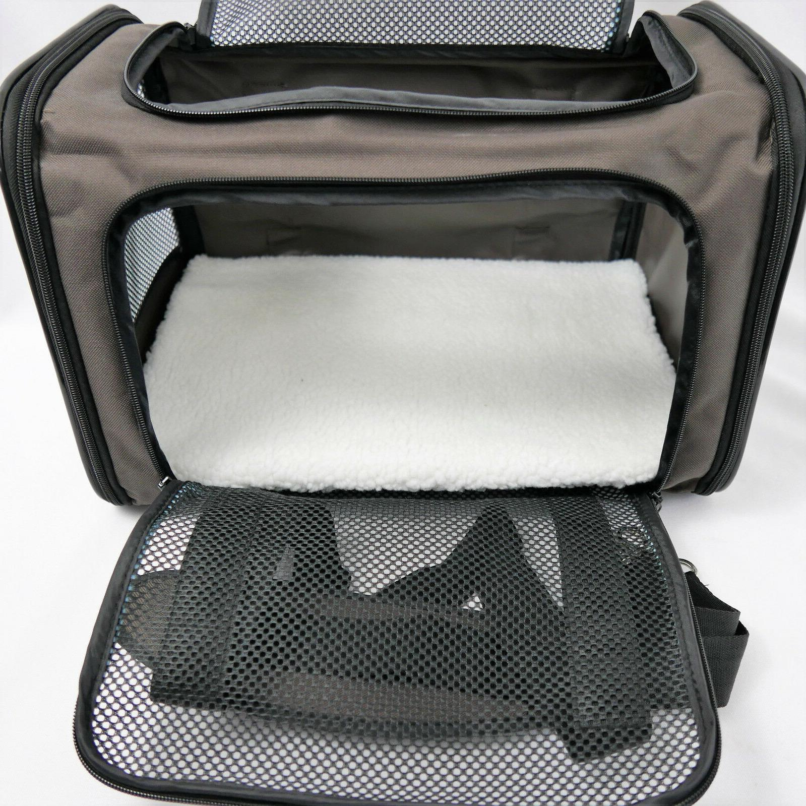 X-ZONE PET Pet Carrier, Sided Collapsible Medium