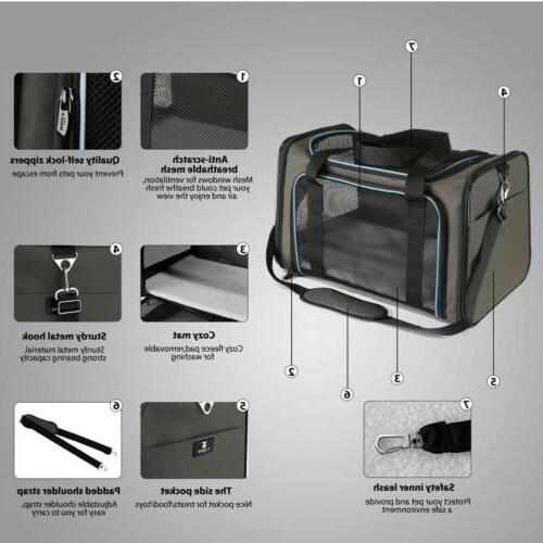 X-ZONE PET Approved Carrier Soft Sided Collapsible,