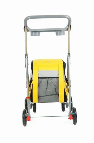 Yellow 3 in Pet Stroller/Carrier/House
