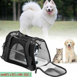 Large Pet Carrier Soft Sided Cat Dog Comfort Travel Tote Bag