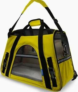 - Paws & Pals Airline Approved Pet Carriers w/ Fleece
