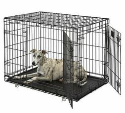 "Dog Crate | MidWest Life Stages 36"" Double Door Folding Meta"