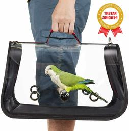 Colorday Lightweight Bird Carrier, Bird Travel cage Parrot