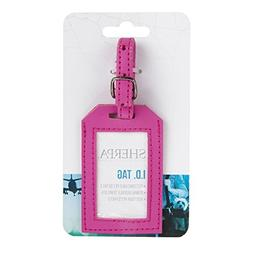 Sherpa Travel Luggage Tag Pink