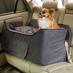 Snoozer Large Luxury Lookout Ii Pet Car Seat, Anthracite/Bla