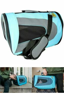 Luxury Soft-Sided Cat Carrier - Pet Travel Portable