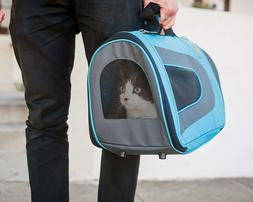 Pet Magasin Luxury Soft-Sided Cat Carrier- Pet Travel Kennel