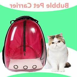 Lyn's Pet Carrier, Hard-Sided Pet Bag, Cat/Dog Bubble Backpa