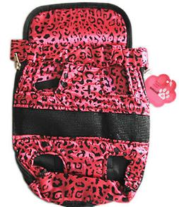 Medium Outdoor Backpack Carrier Pouch w/ Chest Strap for Pet