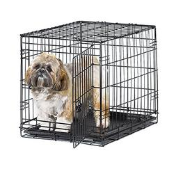 Metal Dog Crate New World Single Door Leak Proof Strong Stur