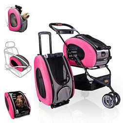 ibiyaya Multifunction Pet Carrier + Backpack + CarSeat + Pet
