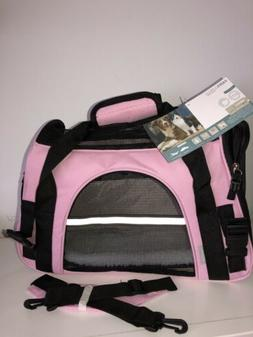 NEW Paws & Pals Airline Approved Pet Carrier - Pink, Small r