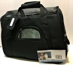 NEW Paws & Pals Small Airline Approved Pet Carrier - Black