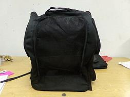 NEW  Oxgord Pet Carrier Rolling Back Airport Approved Black