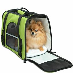 NEW Pet Carrier Soft Sided Cat Dog Comfort Travel Tote Bag A
