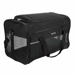 Pet Carrier Soft Sided Puppy Kitten Cat Dog Tote Bag Travel