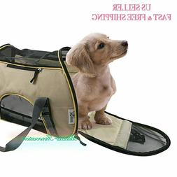 NEW Soft Sided Pet Carrier Airline Travel Cat/Dog Small Anim
