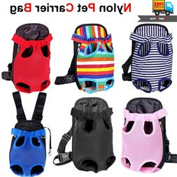 Nylon Mesh Pet Puppy Dog Cat Carrier Front Backpack Net Bag