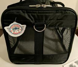 Sherpa Original Deluxe Medium Pet Carrier Black Soft Side Ca
